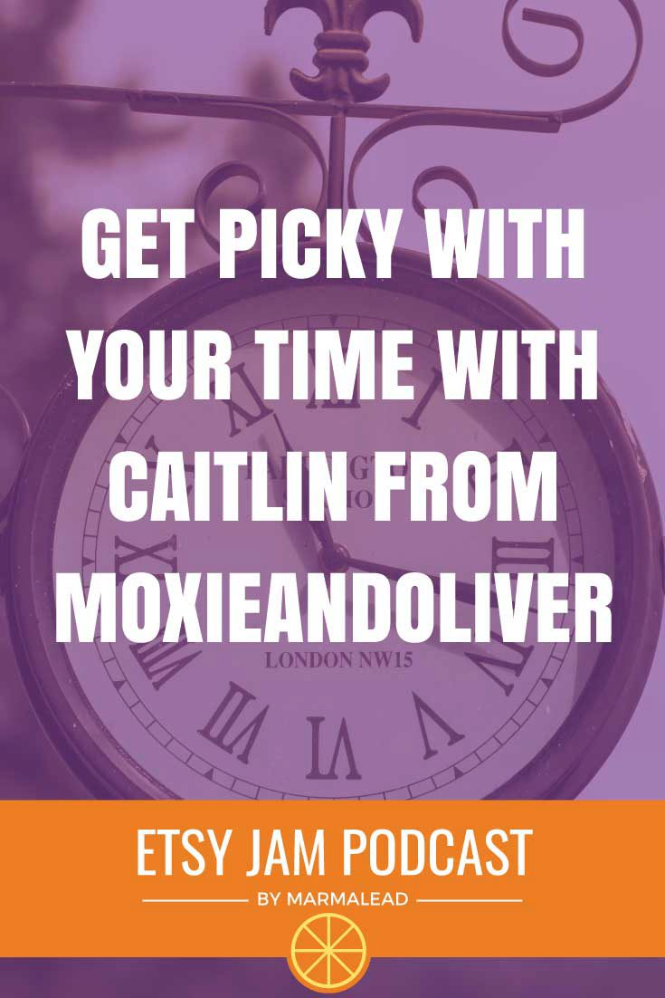 Like most Etsy sellers, you probably have a ton of things competing for your time. How well do you defend it? How picky are you about where you sell online and what shows you go to? This week we chat with Caitlin from MoxyAndOliver about some key decisions she's made to defend her time.Caitlin talks about leaving her full time job, being diligent about where she sells online, what shows she participates in and how she found and hired her assistant. Join Caitlin, Richie and Gordon for another informative Etsy Jam.